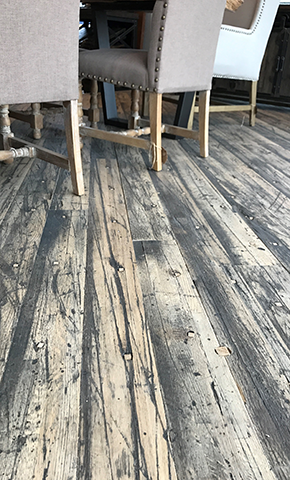 $3,999 for 200 Square Feet of Premium, Re-claimed Boxcar Flooring Installation