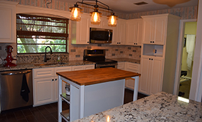 $4,880 for Kitchen Cabinet Refacing