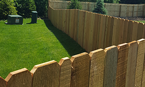 $3,375 for a Hand-Built Cedar Privacy Fence - Including Materials and Labor