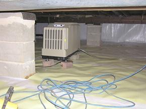 $1,899 Basement Dehumidifier Air Purification System