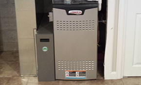 $2,249 for a New Gas Furnace Installation