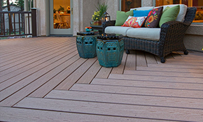 Design Consultation PLUS $100 AZEK or TimberTech Product Credit