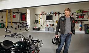 $449 Garage Storage System Installation