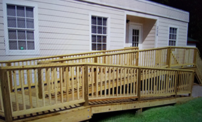 $55 for a Wheelchair Ramp Installation Consultation
