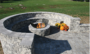 "$1,299 for Delivery and Installation of 49"" Wood Burning Fire Pit"