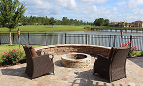 $899 for Delivery and Installation of Fire Pit
