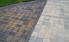 $630 for Cleaning and 2 Coats of Sealant on 1000 Square Feet of Brick Pavers