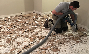 $600 for Up to 200 Square Feet of Dust-Free Tile Floor Removal