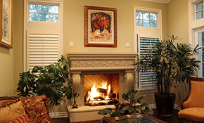 $3,150 for Installation of a Custom Stone Fireplace