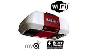$436.50 for Elite Series WiFi w/ Battery Back-up Garage Door Opener, Includes Installation
