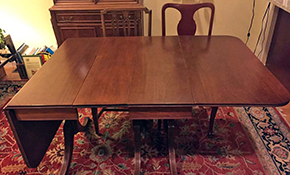 $409 for Refinishing Kitchen Table Top