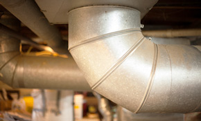 $1,980 for Aeroseal of Air Ducts and Duct Leak Evaluation