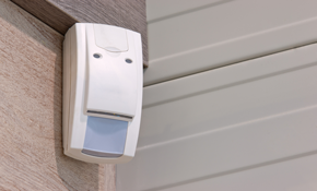 $99 for a Gold Home Security System Package Installed Plus Bonus Gift Card