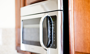 $140 for Over the Range Microwave Diagnostics and Repair
