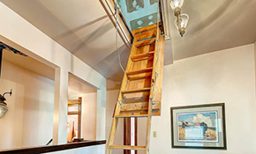$475 for an Attic Ladder Replacement