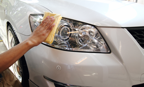 $50 for Professional Headlight Restoration