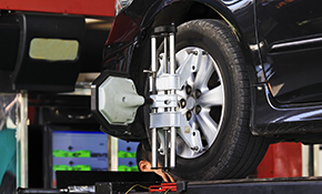 $44.95 for Front End Wheel Alignment