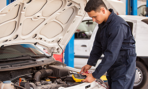 $75 Multi-Point Vehicle Inspection with Check Engine Light Analysis