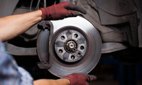 $229 for New Brake Pads and Rotors