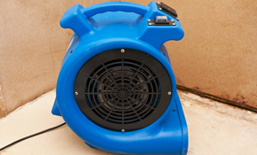 $180 for Water Damage Extraction and Equipment Rental