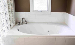 $535 Fiberglass Tub and Shower Refinishing