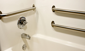 $242 for 2 Bathroom Grab Bar Installation