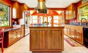 $199  Deposit for a Kitchen Cabinet Makeover with $300 Credit
