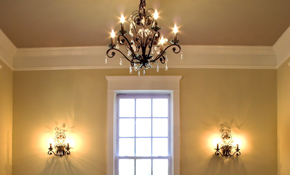 $1,299 for 3 Rooms of Crown Molding Installed; Buy up to 2