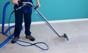 $59 for 4 Rooms of Carpet Cleaning