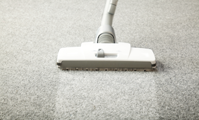 $120 for 3 Rooms of Carpet Cleaning with Free Fiber Rinse