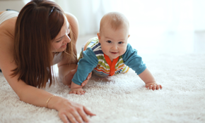 $159 Carpet Cleaning, Deodorizing and Protection for 4 Rooms and a Hall