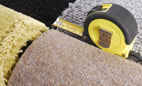 $719 for Up to 500 Square Feet of Carpeting with Padding and Installation