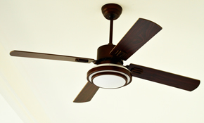 $150 Ceiling Fan Installation