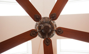 $120 Ceiling Fan Installation