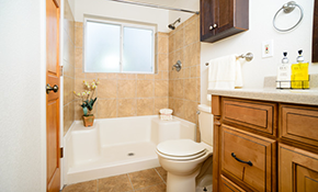 $9,700 for a Bathroom Remodel, 7% Savings