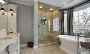 $1,749 for a Ceramic Tile Shower or Tub Surround Replacement - Labor and Materials Included