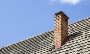 $1,395 Stainless Steel Chimney Liner Installation