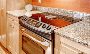 $3,240 Custom Granite Countertops--Installation, Materials and Undermount Sink Included