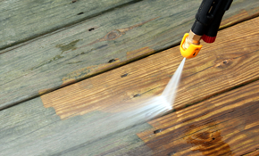 $180 for Deck Pressure Washing