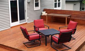 $1,890 for a Standard Deck with Plans, Materials, and Labor