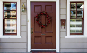 $2,025 for Delivery and Installation of a ThermaTru Smooth Star Fiberglass Entry Door System