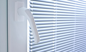 $899 for a Full View Patio Door With Full Mini Blinds and Installation