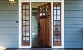 $399 Custom Front Door Refinishing