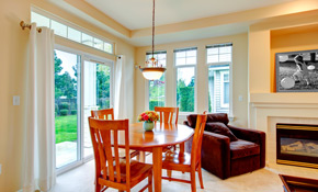 $3,510 for a Premium Sliding Glass Patio Door with Built-In Blinds Completely Installed - EnergyStar