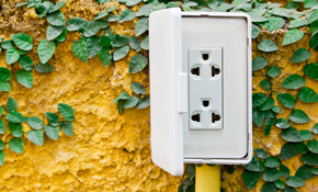 $176 for an Outdoor Electrical Box Installation