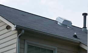 $1,665.00 for Installation of Attic Breeze Solar Attic Fan