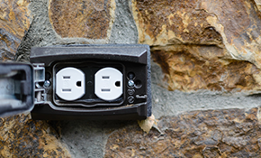 $89 for an Outdoor Electrical Outlet or a Motion Sensing Security Light