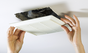 $185 Bathroom Exhaust Fan Installation