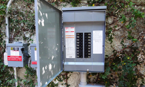 $1,260 for an Electrical Panel Replacement and Surge Protection