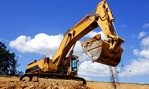$719 an Excavator and Operator for 8 Hours